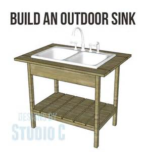 outdoor kitchen sinks ideas diy outdoor sink
