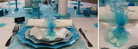 deco mariage bleu turquoise et blanc decoration de mariage bleu turquoise or blanc recherche deco searching