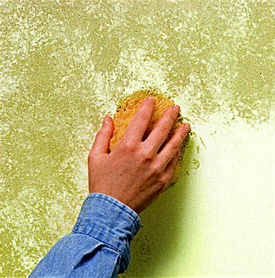 How To Prepare And Clean A Sponge For Faux Painting