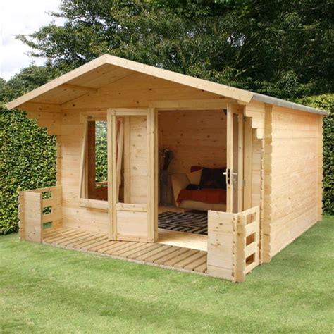 cleveland outdoor cabin veranda 10 1ft x 11 5ft garden