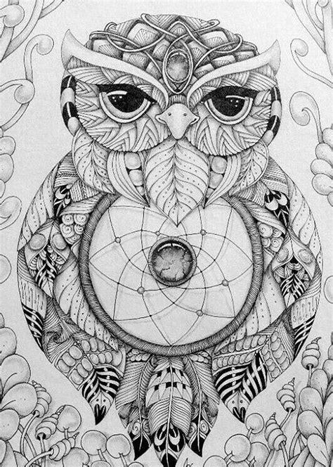 Pin by Kathy Naraghi on Design Patterns | Owl coloring