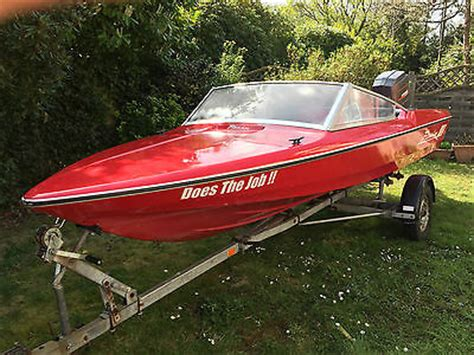Speed Boat Engines For Sale by Fletcher Speed Boat With Mariner 75hp Outboard Engine And
