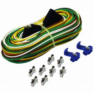 25 Ft  Trailer Wire Harness With Full Ground-br59373