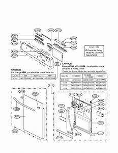 Panel And Door Parts Diagram  U0026 Parts List For Model