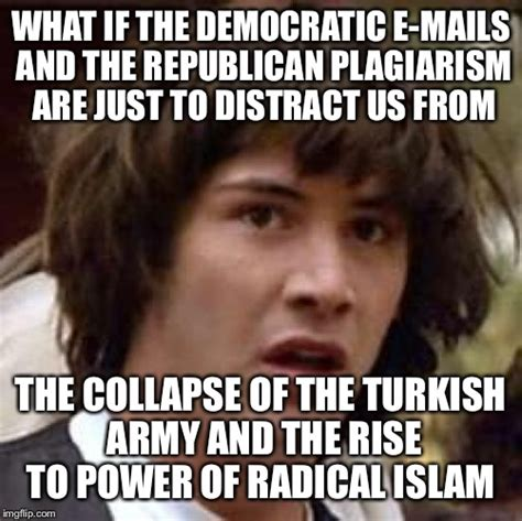 Plagiarism Meme - listen the islamic terrorists are getting all kinds of testosteronied and yahooified in europe