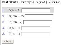 review  mathscore   math practice environment