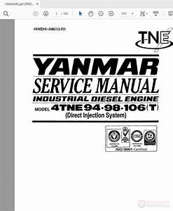 Yanmar Industrial Diesel Engine 4tne94