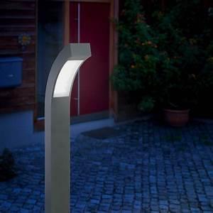 Borne Lumineuse Exterieur : borne lumineuse led 100 cm line sur eclairage ext rieur led 220 230 v ~ Teatrodelosmanantiales.com Idées de Décoration