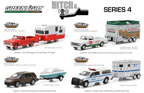 green light toys diecast hobbist greenlight hitch and tow series 4