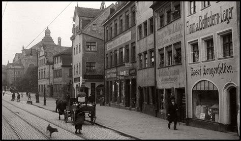 vintage everyday life  street scenes  nuremberg