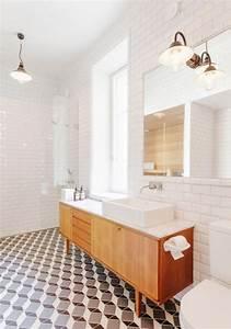 Meuble Salle De Bain Sous Lavabo : id e d coration salle de bain meuble salle de bain bois sous lavabo lampe de plafond ~ Teatrodelosmanantiales.com Idées de Décoration