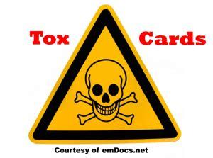 emDOCs.net – Emergency Medicine EducationToxCard: Cotton ...