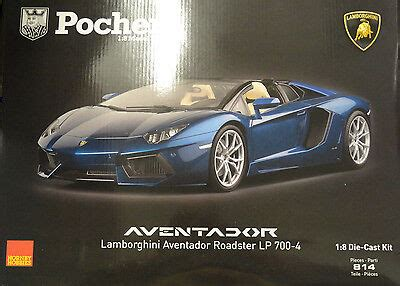 pocher lamborghini aventador lp700 4 roadster pocher lamborghini aventador lp700 4 roadster metallic blue 1 8 car kit hk103 601 16