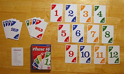 Tens solitaire is a very quick card game, generally played in about two minutes. Phase 10 - Wikipedia