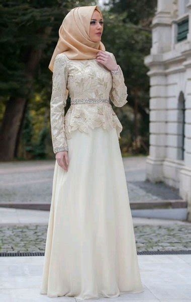 jual abaya gamis maxi dress gaun pesta muslim brokat satin