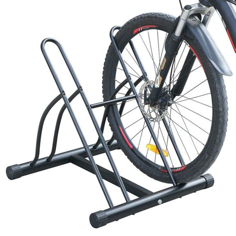 Bike Rack For Garage Floor by Two Bike Floor Stand Free Standing 2 Bike Rack Garage