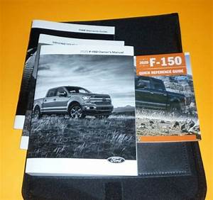 2020 Ford F150 F 150 Owners Manual Set Guide 20 W  Case Xl
