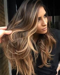 Faire Un Balayage : balayage toffee color hair trends cabello estilo ombre cabello te ido cabello ~ Melissatoandfro.com Idées de Décoration