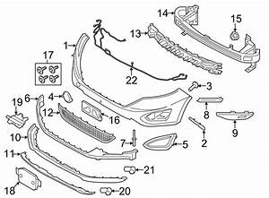 2015 Ford Edge Absorber  Package  Bumper