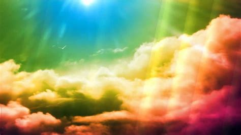 Rainbow Animated Wallpaper - rainbow animated wallpaper http www desktopanimated