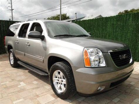how it works cars 2009 gmc yukon spare parts catalogs sell used 2009 gmc yukon xl slt 1500 1 owner 7 pass lthr backup cam more automatic 4 door in