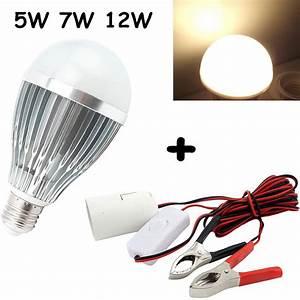 Aliexpress Com   Buy E27 Dc Ac 12v Led Light Bulb Solar