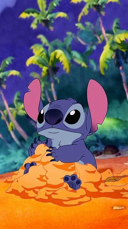 Cartoon Stitch Lilo Disney Aesthetic Background Backgrounds