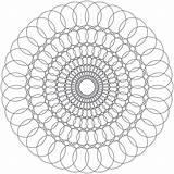 Coloring Crazy Sheet Spirals Enjoy Sheets Adult sketch template