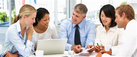 diverse business meeting the most of customer surveys through