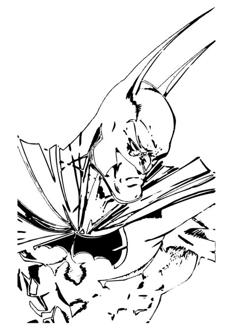 outline  batman   clip art  clip