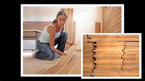 Installing Laminate Wood Floors   YouTube