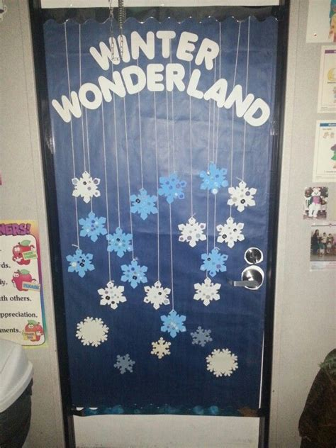winter classroom theme for our door at the 354 | bbb0dd9a64151c1e5a3ca6285f5e6602