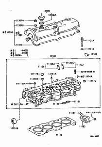 Toyota Corolla Gasket  Cylinder Head  Engine  Kit
