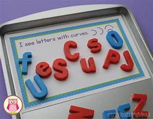 sorting magnetic letters with sorting mats free printable With magnetic trays for magnetic letters