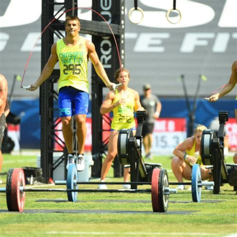 For five weeks, athletes from around the world tested. CrossFit Games - Australian CrossFit Championship - March 2020