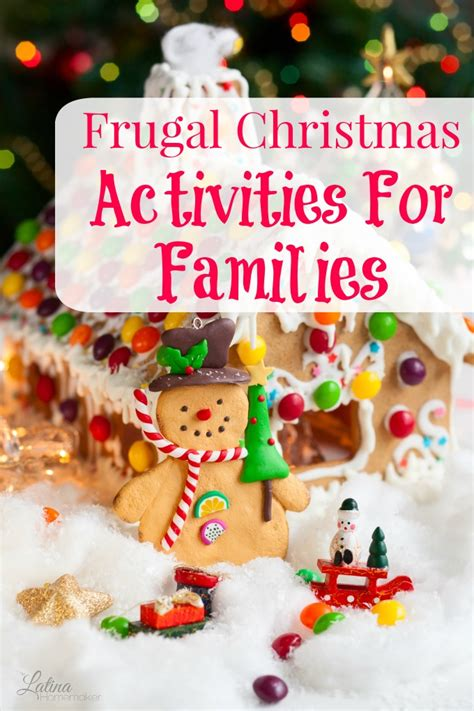 10 frugal christmas activities for families