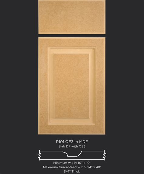 solid mdf cabinet doors  drawer fronts