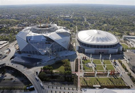 Mercedes-Benz Stadium construction update pushed back