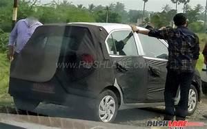 2018 Hyundai Santro Spied Testing In India