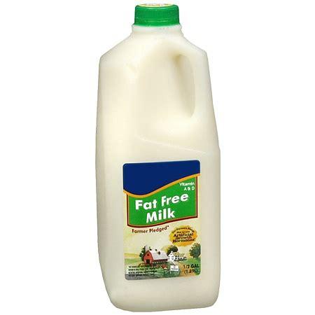 Milk Fat Free Skim 1/2 Gallon | Walgreens
