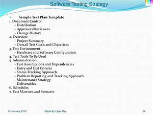 11 software testing strategy With sample test strategy document template
