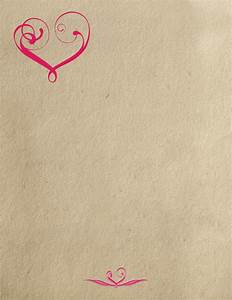 8 best images of printable paper vintage love letter With love letter paper