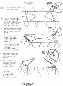 Tent Set Up Instructions 2