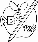 Abc Blocks Coloring Pages Printable Shocking Getcolorings Toddler sketch template