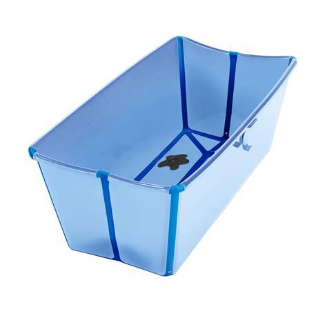 baignoire pliable flexibath bleu baignoire b 233 b 233