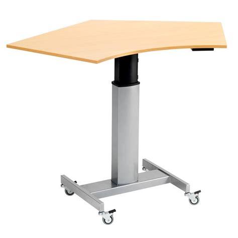 adjustable mobile laptop desk mobile height adjustable computer desk aj products