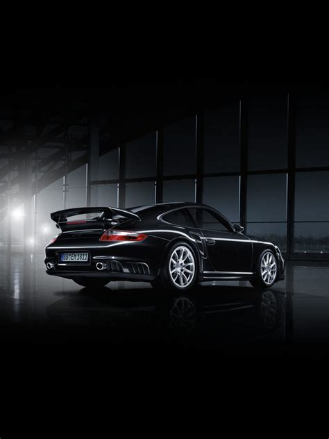 cars porsche  gt black edition ipad iphone hd