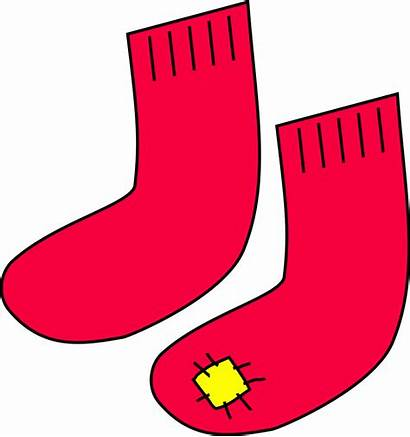 Clipart Clip Clothes Clothing Cliparts Patch Socks
