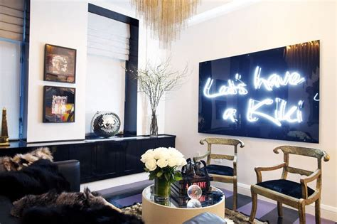 neon signs for home decor 39 let 39 s a 39 neon sign in a chelsea apartment