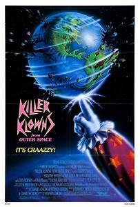 Poster for Killer Klowns from Outer Space (1988, USA ...